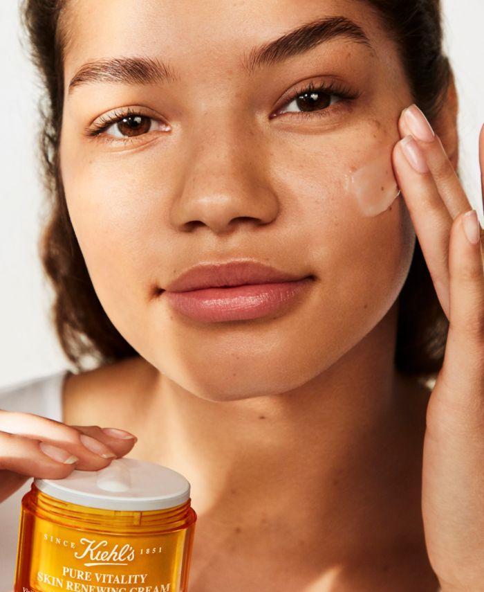 Kiehl's Since 1851 Pure Vitality Skin Renewing Cream, 1.7-oz. & Reviews - Skin Care - Beauty - Macy's