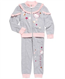 Hello Kitty Toddler Girls Track Jacket & Jogger Pants
