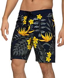 "Men's Phantom Floral 20"" Board Shorts"