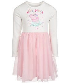 Disney Little Girls Peppa Pig Let's Dance Dress