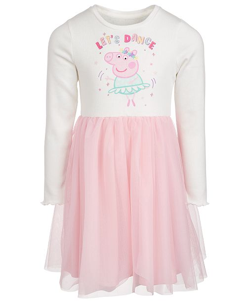 Peppa Pig Toddler Girls Let's Dance Dress