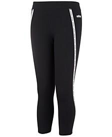 Big Girls Xpress Logo-Stripe 7/8 Leggings