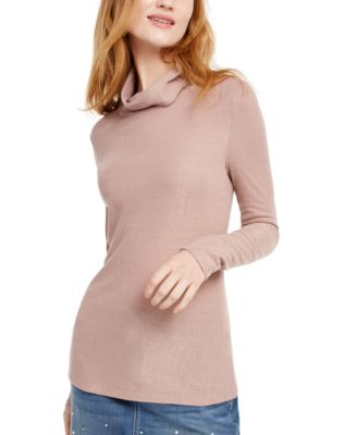 INC Shimmer Turtleneck, Created For Macy's