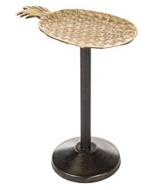 Luana Pineapple Accent Table, Quick Ship