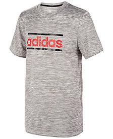adidas Big Boys ClimaLite® Logo-Print T-Shirt
