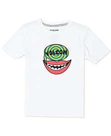 Toddler & Little Boys Say Volcom Cotton T-Shirt