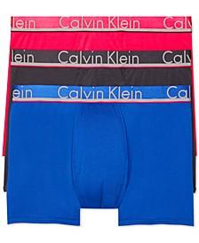 Men's  Comfort Microfiber Trunk 3 Pack