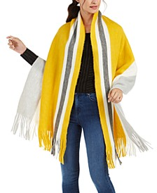 Super Soft Striped Muffler Scarf