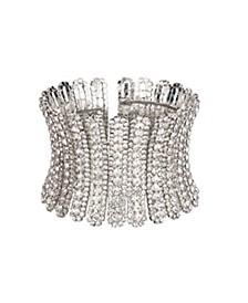 Jewelry Flexible Crystal Cuff Bracelet