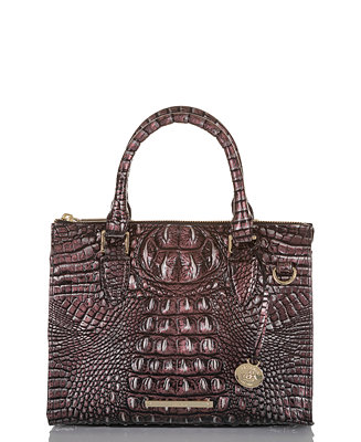 d737e155013 Brahmin Anywhere Convertible Melbourne Embossed Leather Satchel & Reviews -  Handbags & Accessories - Macy's