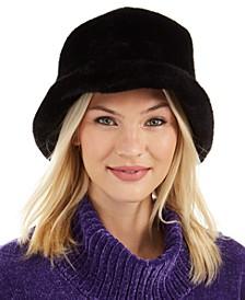 Faux-Fur Bucket Hat