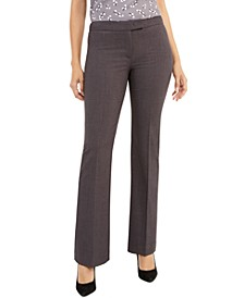 Wide-Leg Career Pants