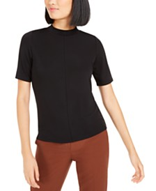 Bar III Mockneck Top, Created For Macy's