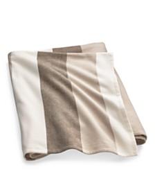 Ralph Lauren Mason Multi-Stripe Queen Bed Blanket