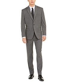 Men's Classic-Fit Stretch Twill Suit, Created for Macy's