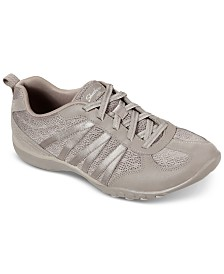 Skechers Women's Relaxed Fit Breathe Easy Be Relaxed Casual Sneakers from Finish Line