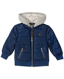 Calvin Klein Baby Boys Layered-Look Jacket
