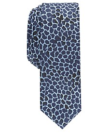 INC Men's Skinny Abstract Tie, Created For Macy's