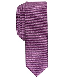 Men's Solid Metallic Tie, Created For Macy's