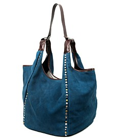 Rose Valley Leather Hobo Bag