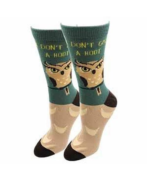 Sock Harbor Don't Give A Hoot Socks