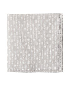 Wicker Print 100% Cotton Washcloth