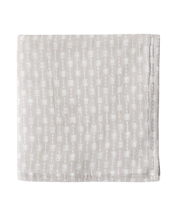 Uchino - Wicker Print 100% Cotton Washcloth