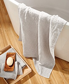 Wicker Print 100% Cotton Towel Collection