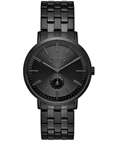 Chaps Dunham Matte Black Stainless Steel Bracelet Watch 40mm