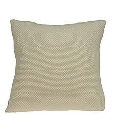 Cassi Transitional Tan Pillow Cover