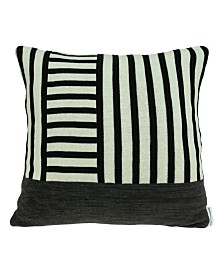 Parkland Collection Arizona Transitional Tan Pillow Cover With Poly Insert