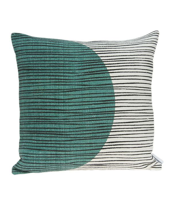 Parkland Collection Linea Transitional Multicolor Pillow Cover with Polyester Insert
