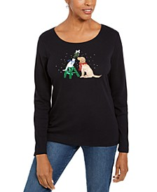 Sparkle Holiday Top, Created For Macy's
