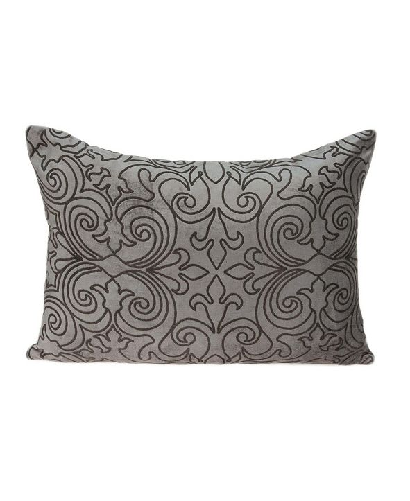 Parkland Collection Senza Transitional Champagne Pillow Cover with Polyester Insert