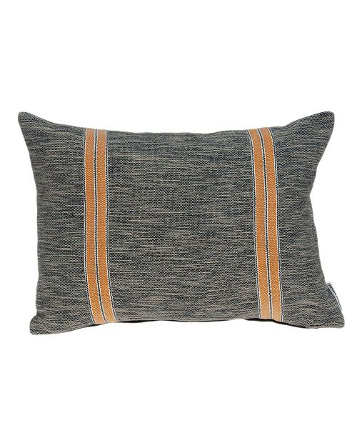Parkland Collection Colar Transitional Multicolor Pillow Cover with Polyester Insert