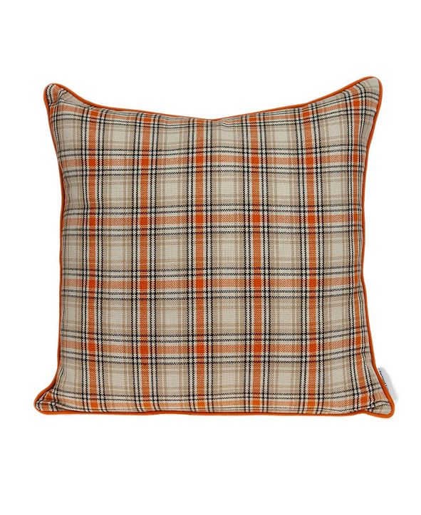 Parkland Collection Pinca Transitional Multicolor Pillow Cover with Polyester Insert