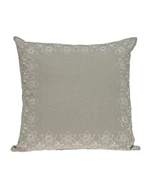 Neera Transitional Beige Pillow Cover