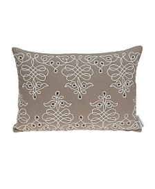Parkland Collection Omni Traditional Tan Pillow Cover With Poly Insert