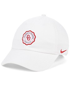 Nike Oklahoma Sooners Patch Logo Seal Strapback Cap