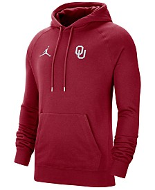 Jordan Men's Oklahoma Sooners Travel Hooded Sweatshirt