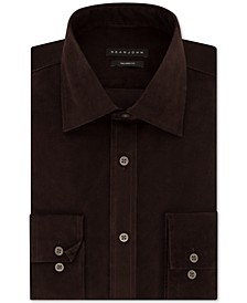 Men's Classic/Regular Fit Solid Dress Shirt