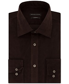 Sean John Men's Classic/Regular Fit Solid Dress Shirt