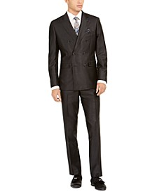 Men's Slim-Fit Double-Breasted Suit Separates