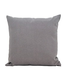 "Outdoor Polyester Filled Throw Pillow, 17"" x 17"""