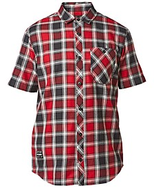 Men's Big Trouble Plaid Shirt