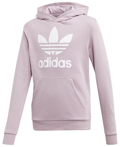 adidas hoodie big logo