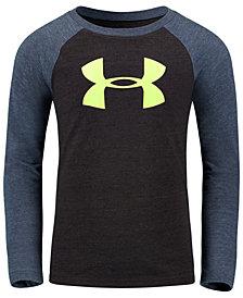 Under Armour Little Boys Logo-Print Raglan T-Shirt