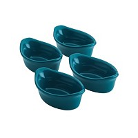 Rachael Ray Ceramics 4-Pc. Oval Dipping Cups (Multiple Colors)