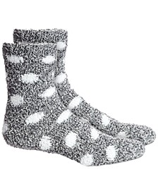 Dots Super Soft Butter Crew Socks, Created For Macy's