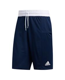 Adidas Men's Climalite 3 Stripe Basketball Shorts